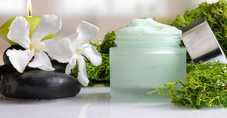 algae face cream sustainable cosmetics