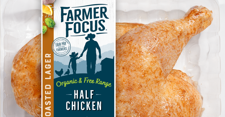 Farmer Focus Toasted Lager Half Chicken