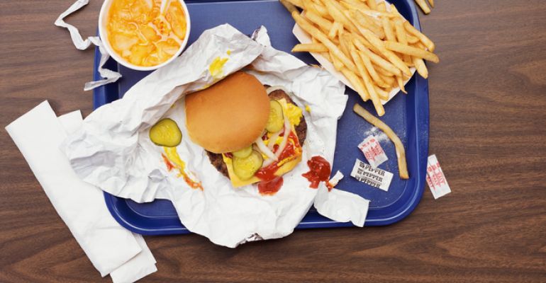 fast food wrapper chemicals