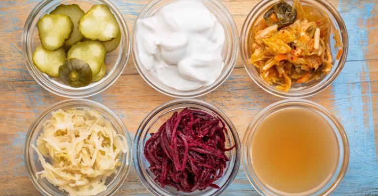 fermented food probiotics