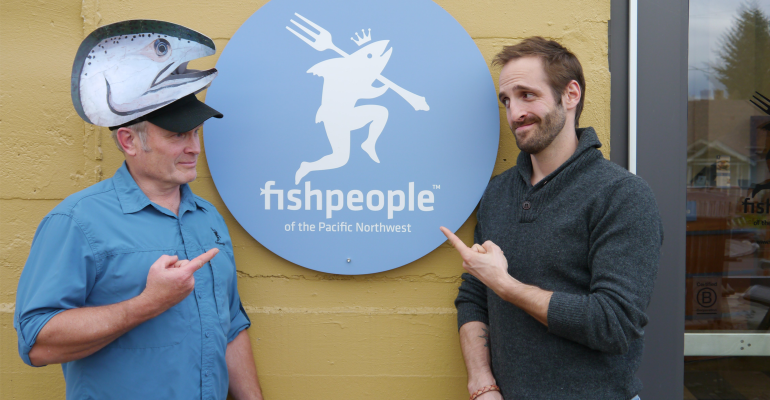 Kipp Baratoff and Duncan Berry of Fishpeople