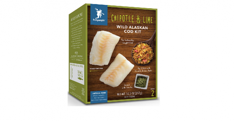 seafood meal kits retail