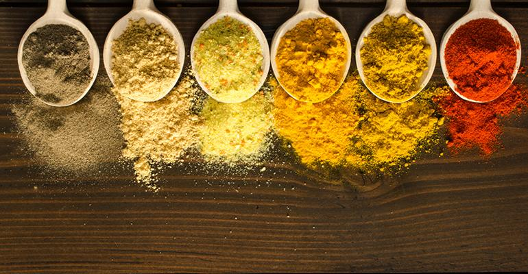 food flavors and spices and ingredients