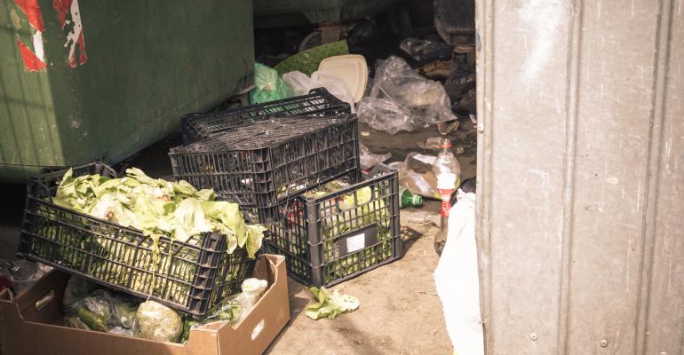 food waste at retail