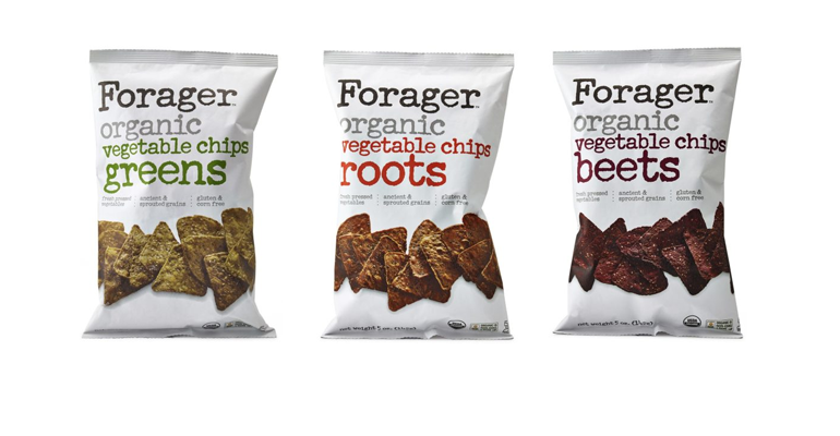 Forager Project chips food waste