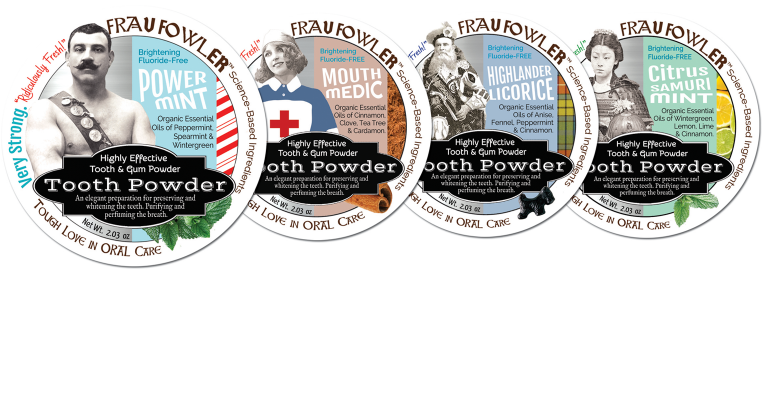 Frau Fowler tooth powders