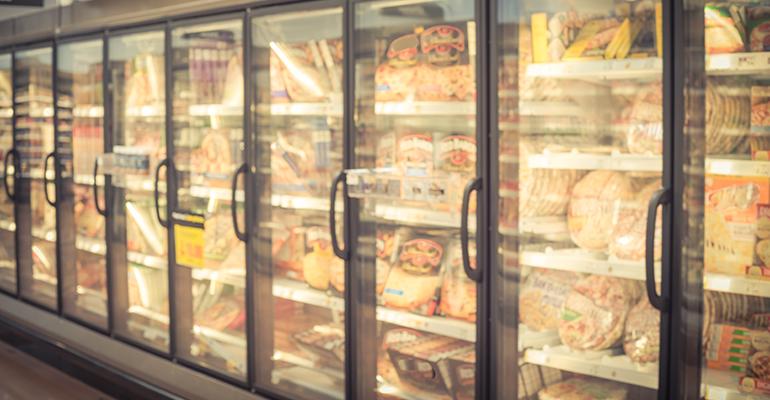 frozen food store