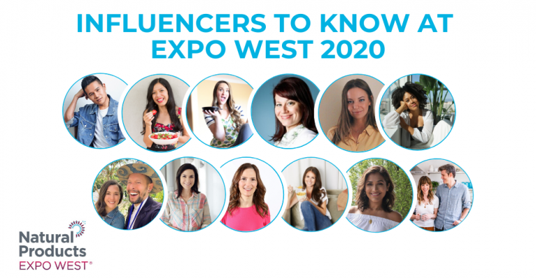 gallery influencers expo west 2020