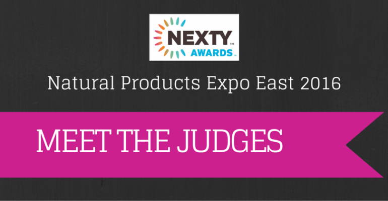 Expo East 2016 NEXTY Awards judges