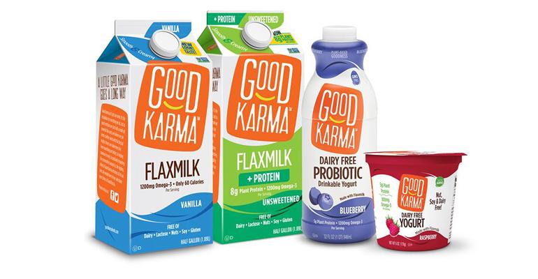 Good Karma flaxmilk nondairy yogurt