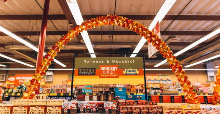 Grocery Outlet natural and organic