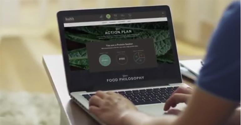 Habit personalized nutrition
