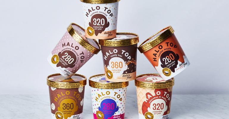 halo top dairy-free ice cream