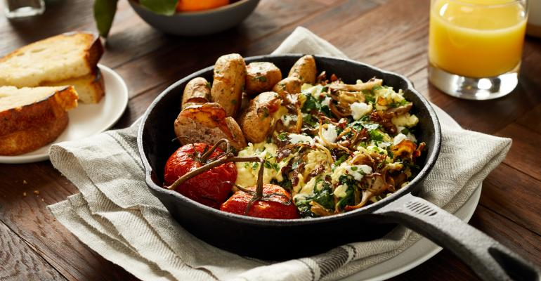 Hampton Creek vegan egg scramble