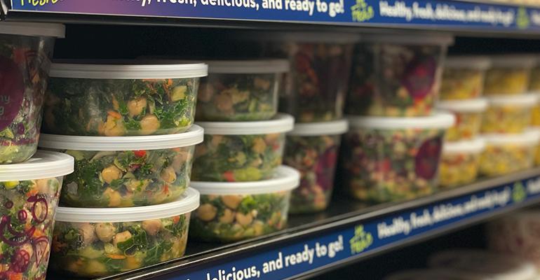 healthy living market fresh salad