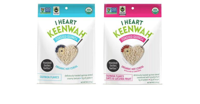 I Heart Keenwah toasted keenwah cereal