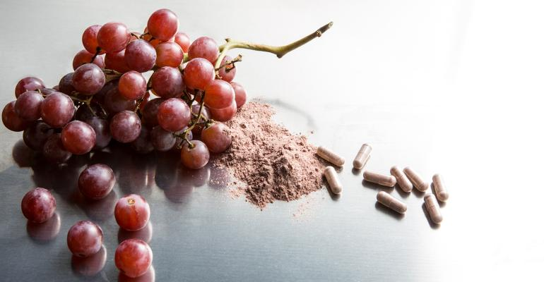 Grapes and supplements