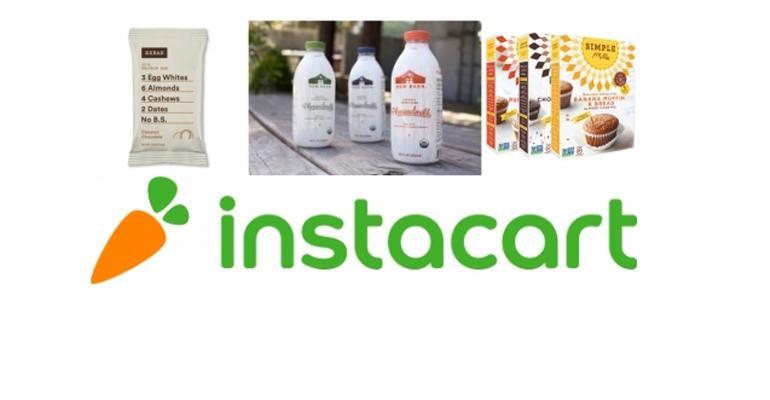 Instacart paleo gluten-free dairy-free food trend