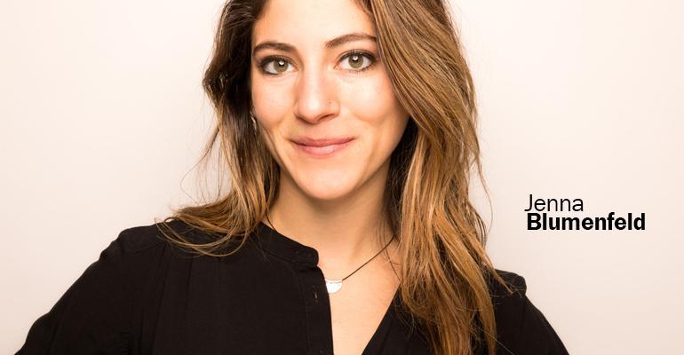 Jenna Blumenfeld senior food editor New Hope Network
