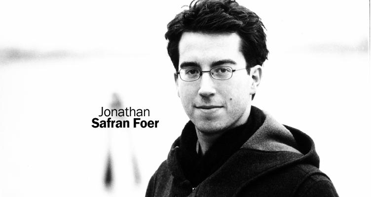 Jonathan Safran Foer at Natural Products Expo East