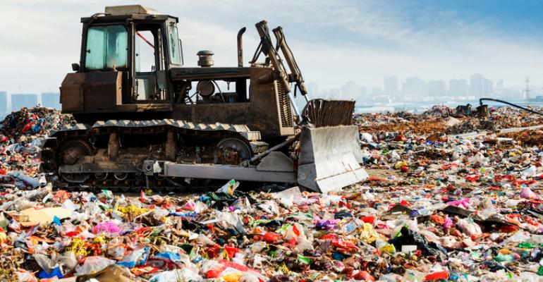 food waste in landfill