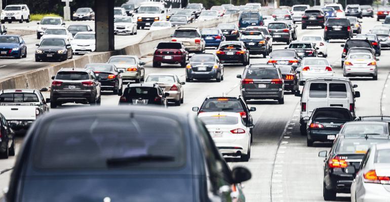 Los Angeles California traffic