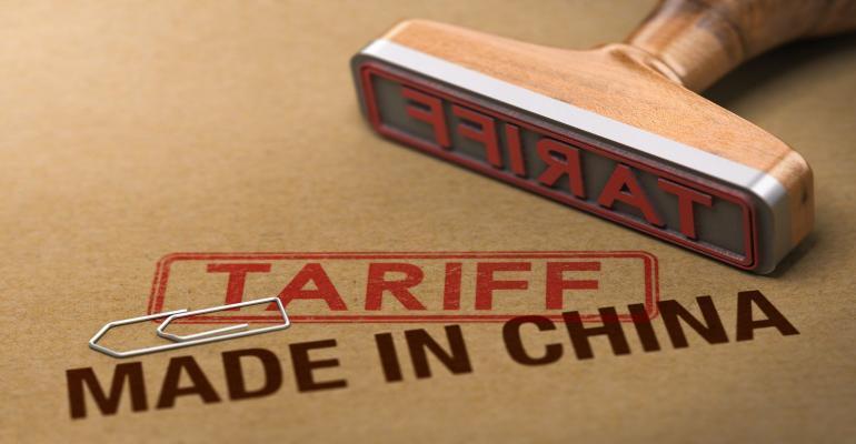 Tariff china stamp retail manufacturer
