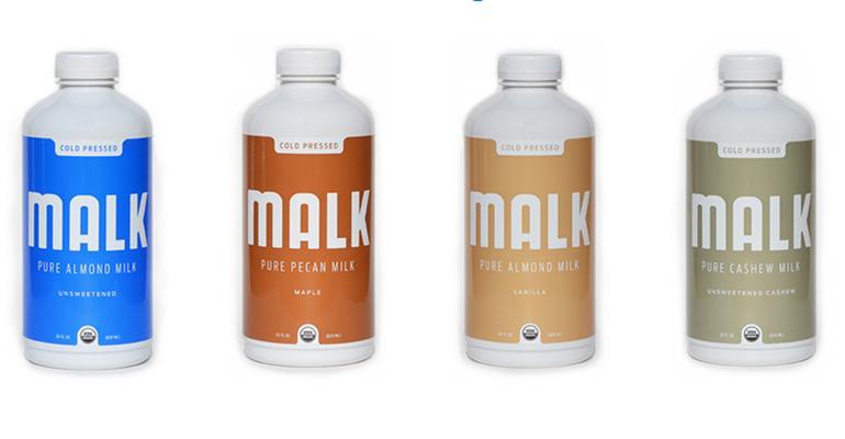 Malk Organics nutmilks