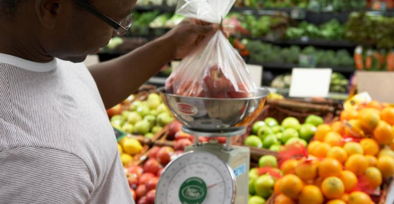 growth of fresh foods at grocery