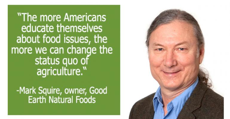 Mark Squire of Good Earth Natural Foods