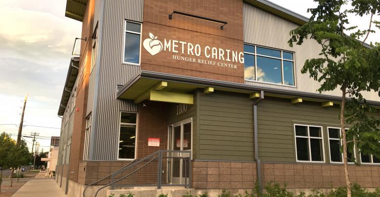 Exterior of Metro Caring