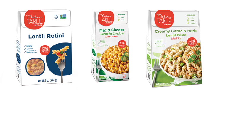 Modern Table Meals reformulate