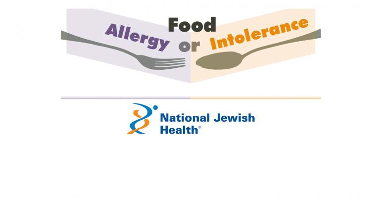 food intolerance or allergy national jewish hospital
