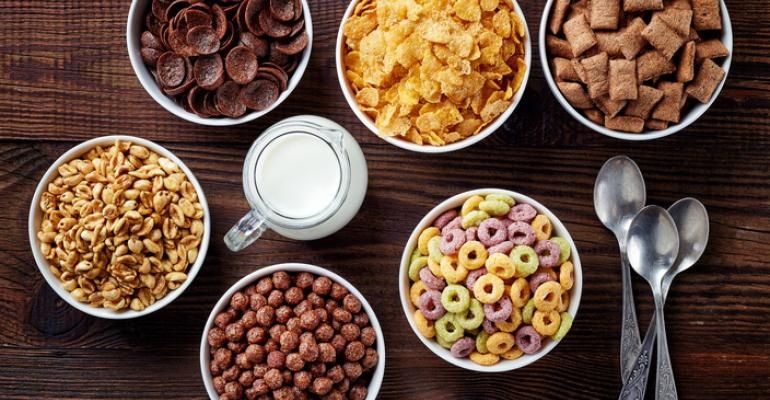 natural colored cereals