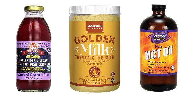 golden milk, vinegar drinks and mct oil among 2018 food trends
