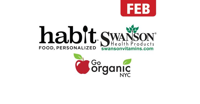 Logos of Habir, Swanson, Go Organic