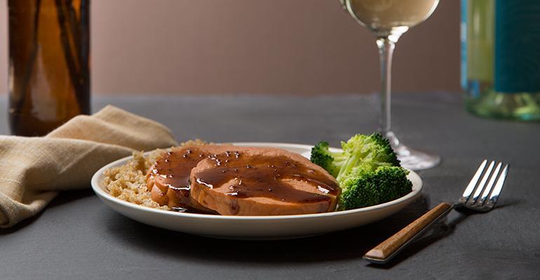 plant-based protein dinner