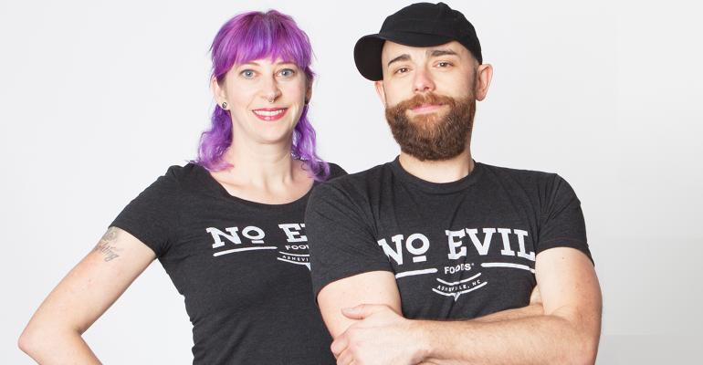 No Evil founders Sadrah Schadel and Mike Woliansky