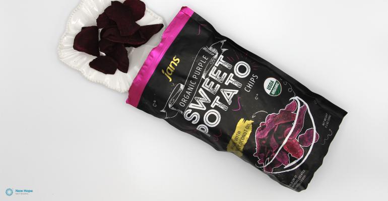 Jans Organic Purple Sweet Potato Chips