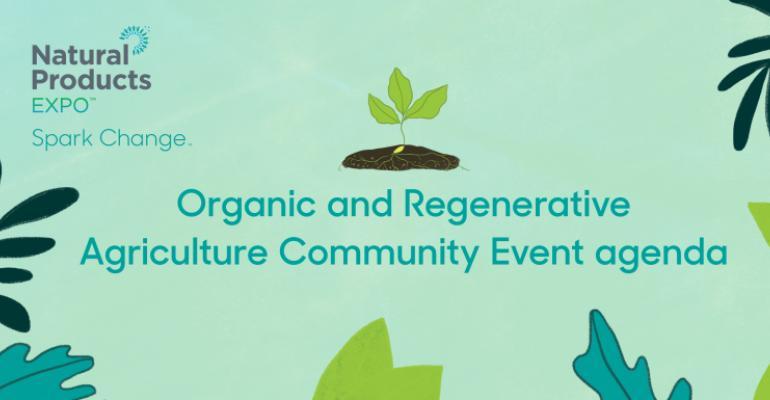 organic spark change agenda event header