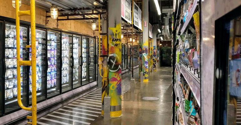 Organic Garage store
