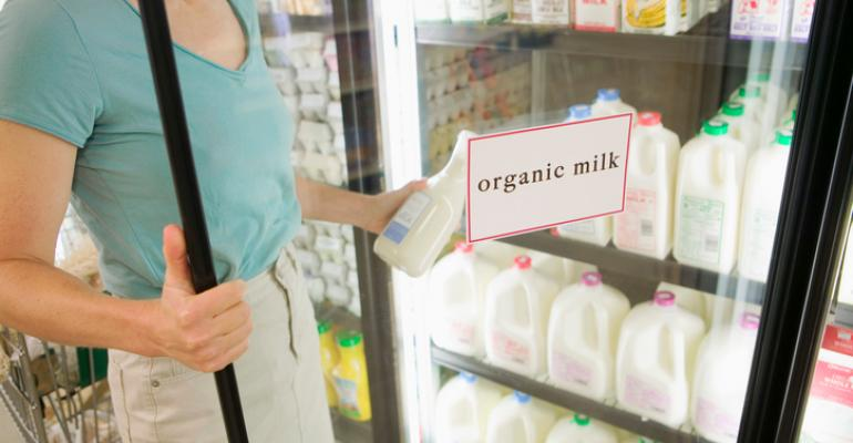 organic milk supply