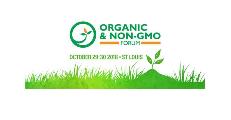 Organic & Non-GMO Forum 2018 logo