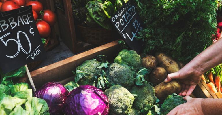 organic food sales 2017