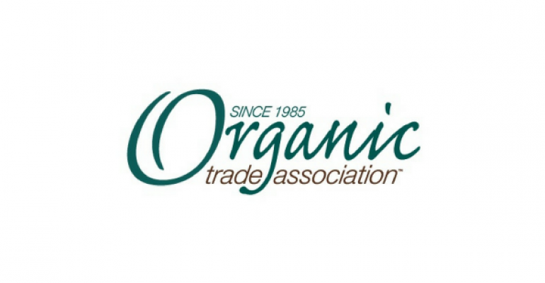Laura Batcha, executive director, Organic Trade Association & Melissa Hughes, board president, OTA
