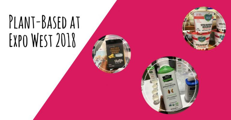 Promo image of plant-based at Expo West 2018