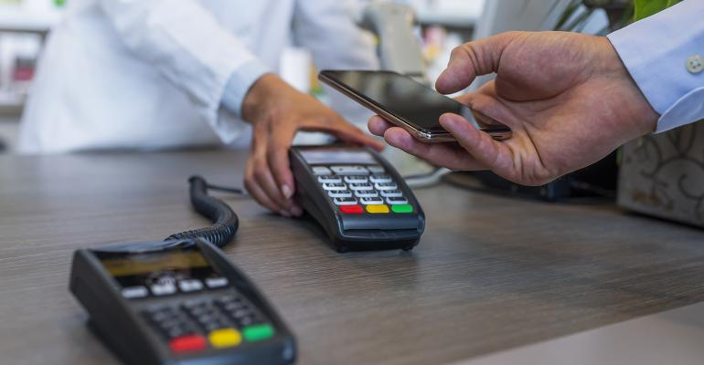 Proximity payment is less price sensitive—shoppers just tap their phone and may not even look at the receipt.