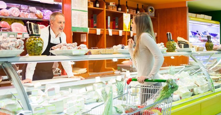 prepared foods shopper deli