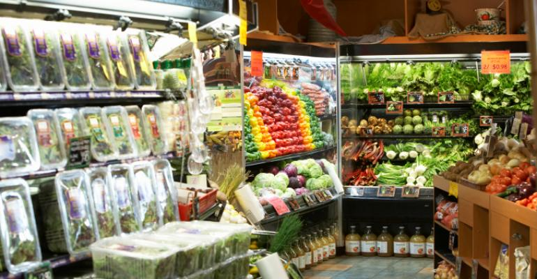 produce section retail