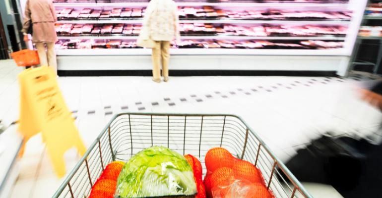 produce shopping cart